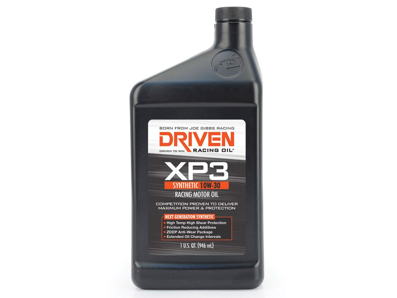 Driven Performance XP 3 Synthetic Oil - 10w-30 - (1 qt)