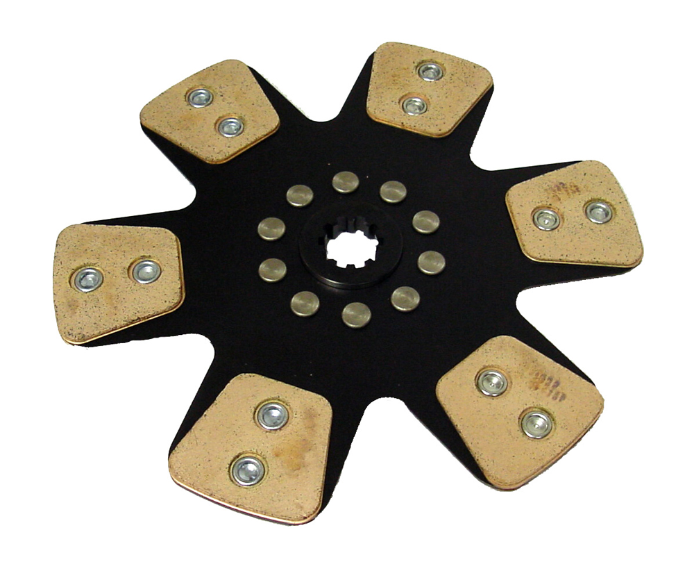 """Picture of ACE 10.5"""" Metallic Clutch Disc"""