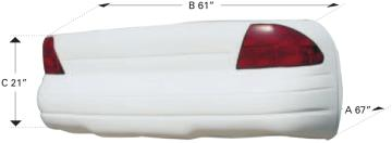 1999 Monte Carlo Tail - (Black)
