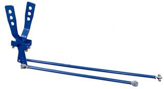 PRP Deluxe 2 Lever Shifter w/Rods & Heims - (Blue)