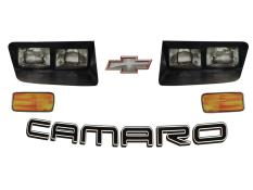 Camaro Dirt Nose Headlight Decals