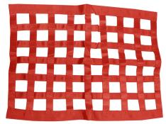 PRP Ribbon Window Net - (Red)