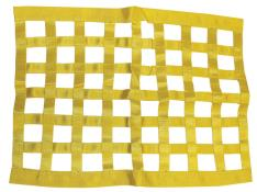 PRP Ribbon Window Net - (Yellow)