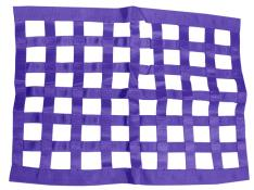 PRP Ribbon Window Net - (Purple)