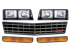 1981-88 Monte Carlo SS Headlights - (Stock Grill)
