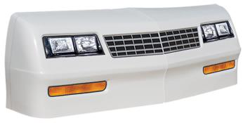 1981-88 Monte Carlo Nose/Decal Combo - (White - MC SS)