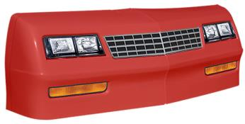 1981-88 Monte Carlo Nose/Decal Combo - (Red - MC SS)