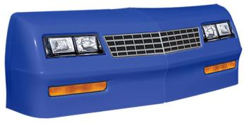 1981-88 Monte Carlo Nose/Decal Combo - (Chevron Blue-MC SS)