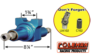 Picture of Coleman Pro-lite Quick Steer - 2 Bolt