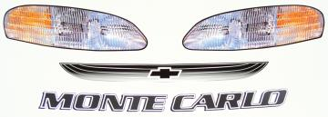 1999 Monte Carlo Headlight Decals