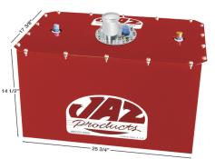 Jaz 22 Gallon Cell w/ Steel Can - #8 On Top - Red