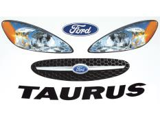 2006 Taurus Headlight Decals
