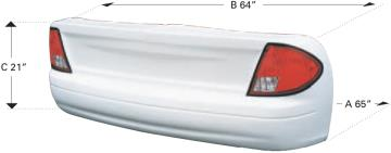 06 Taurus Tail Section - (White)