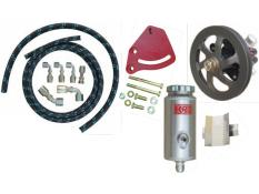 PRP Power Steering-Hose Kit Combo - (V-Belt - Block Mount)