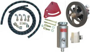 PRP Power Steering-Hose Kit Combo - (V-Belt - Head Mount)
