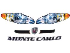 2005 Monte Carlo Headlight Decals