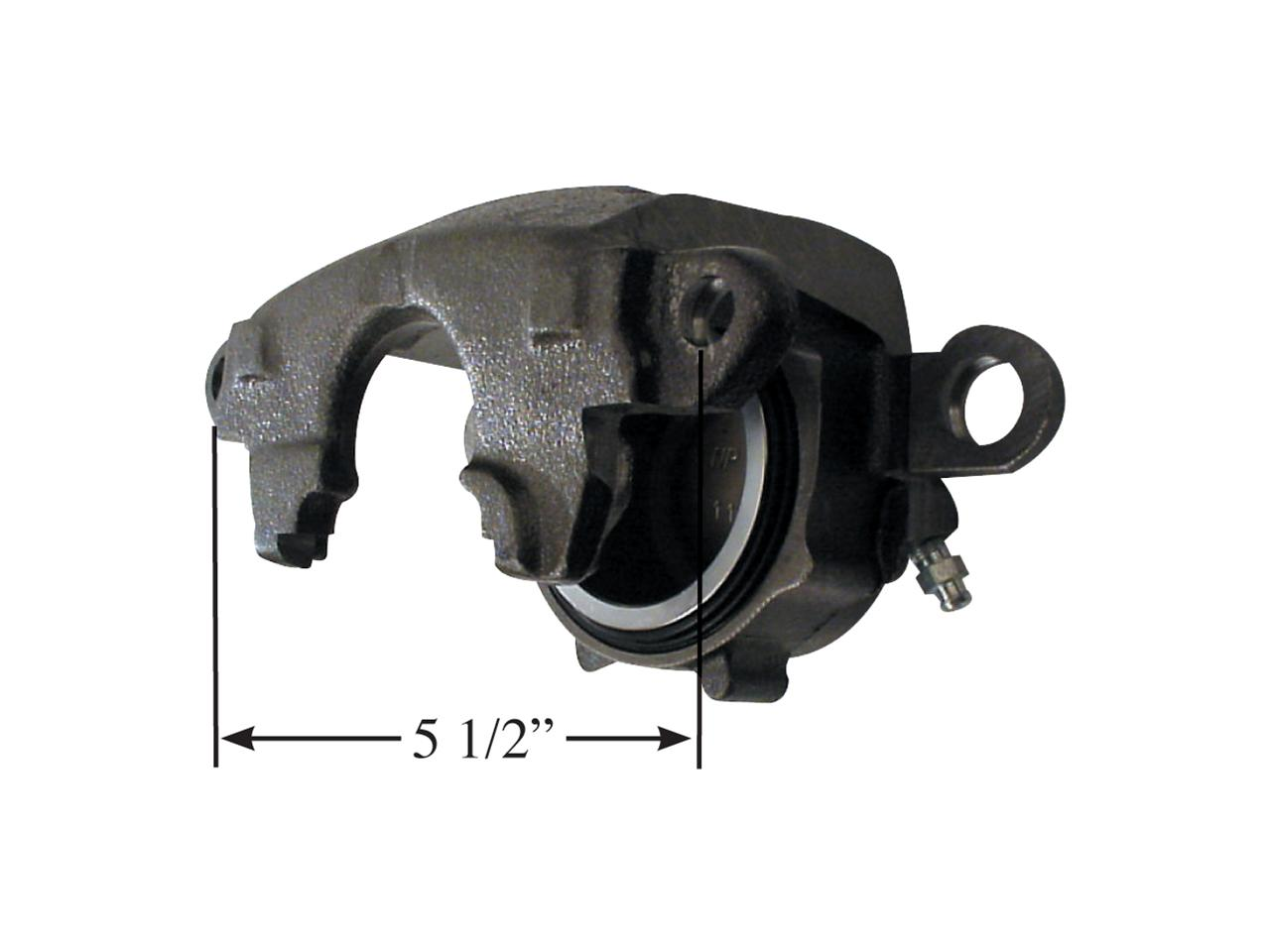 Picture of AFCO Brake Undersize GM Metric Caliper - RH