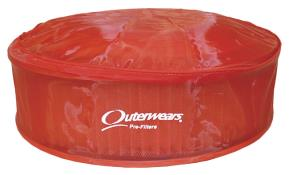 Outerwears For Air Filter With Top - (Red)