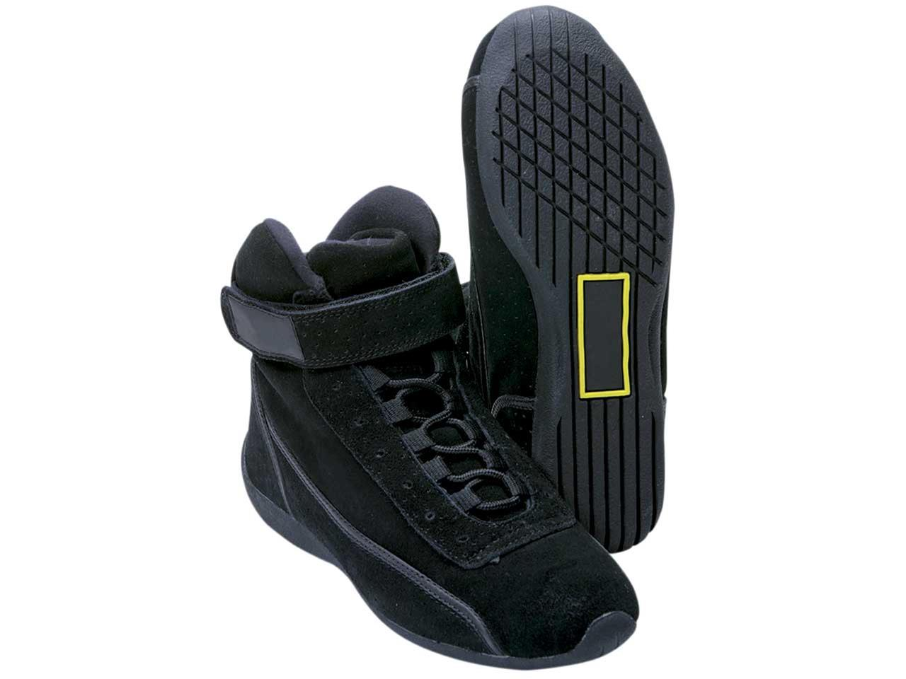 Impact High Top Shoe - Size  7 - Black