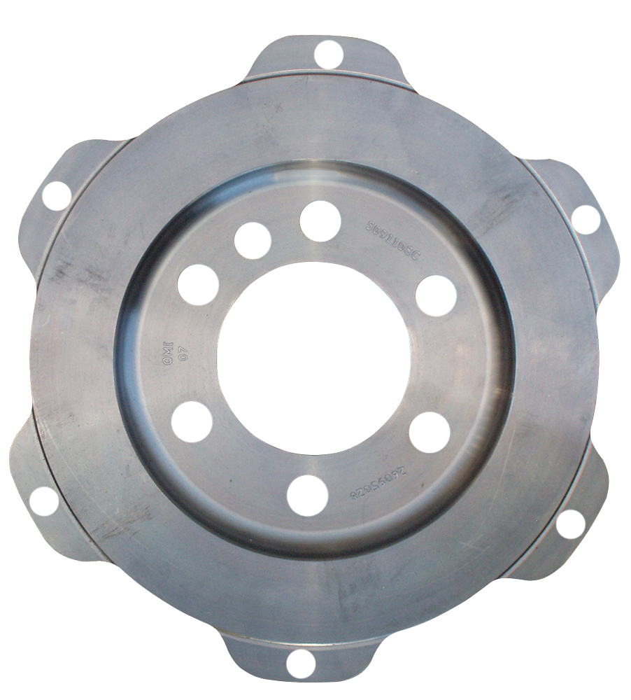 "QuarterMaster 7.25"" V-Drive Button Flywheel - (Chevy)"