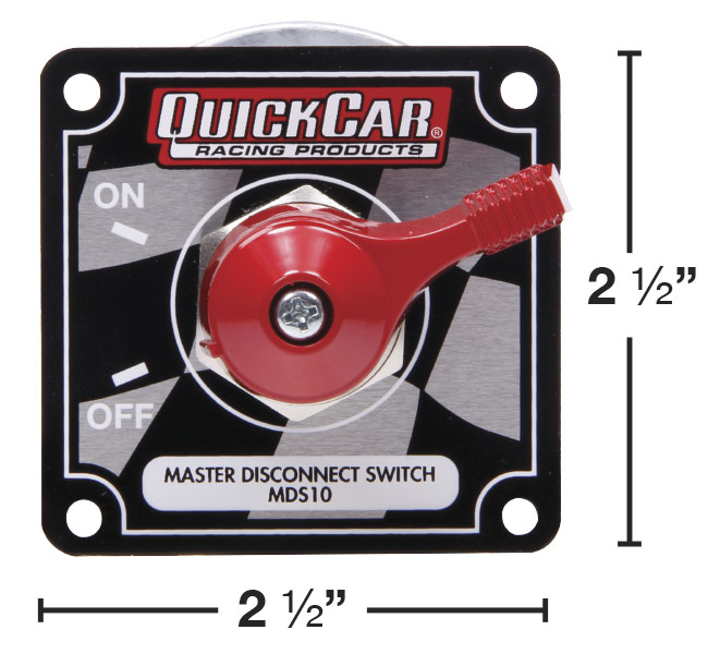 Quickcar Master Disconnect Switch