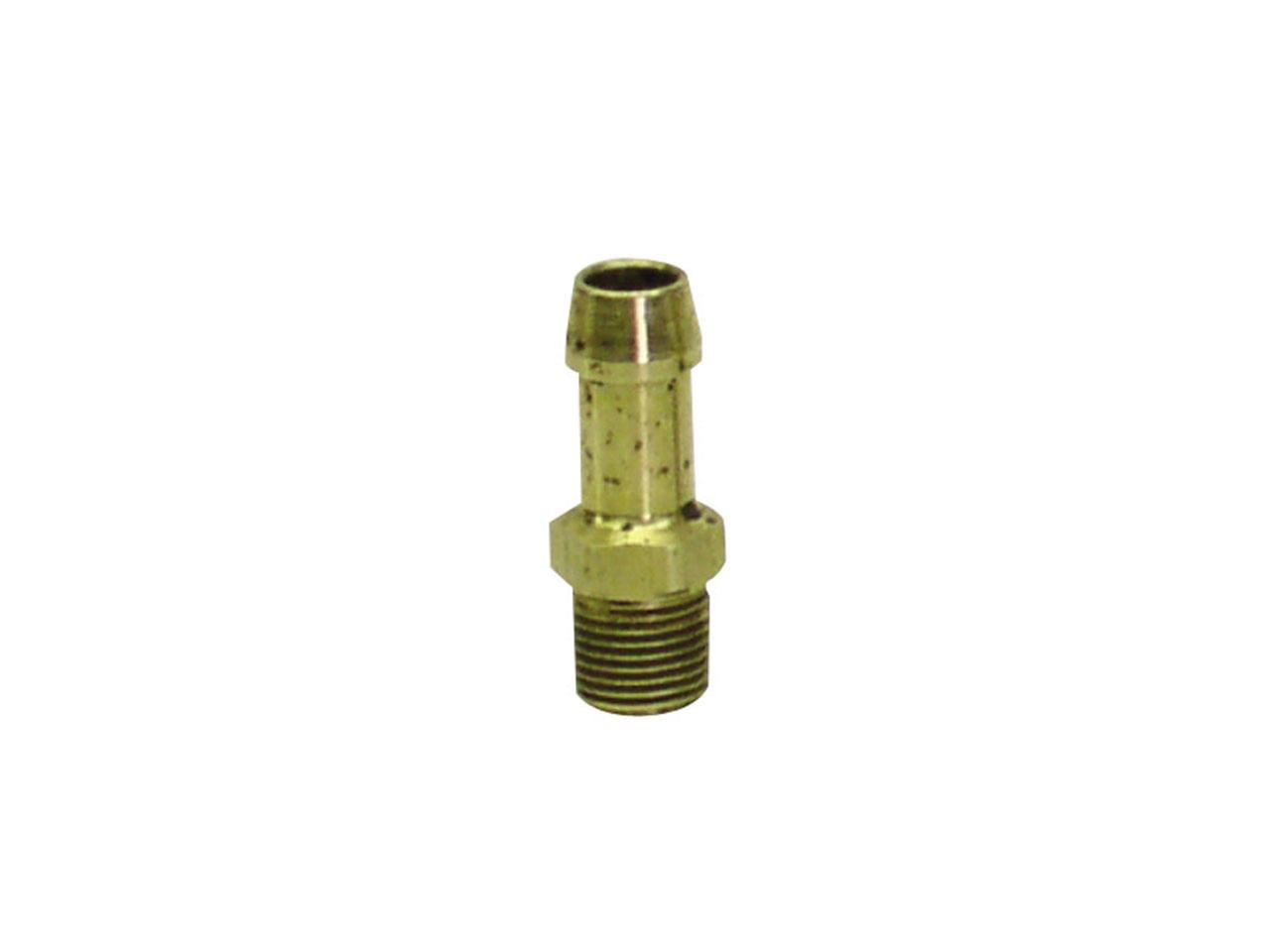 "Picture of PRP Radiator Fitting 1/8"" Mnpt - 5/16"" Barbed End"