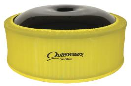 """Outerwears 14"""" X 5"""" Pre Filter - (Yellow)"""