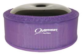 "Outerwears 14"" X 5"" Pre Filter - (Purple)"