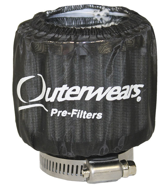 Outerwears For Breather w/Shield - (Black)