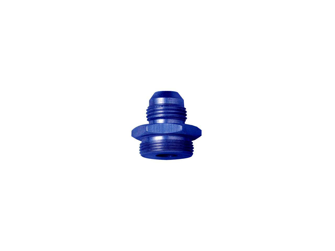 --Carb Adapter - #8 x 1-20 Male - Rochester (Blue)