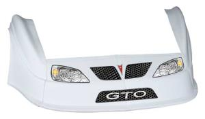 MD3 Gen 2 Nose-Fender-Decal Kit - (White - GTO)