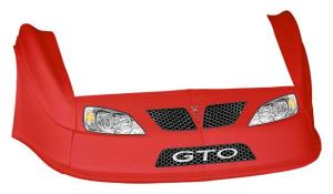 MD3 Gen 2 Nose-Fender-Decal Kit - (Red - GTO)