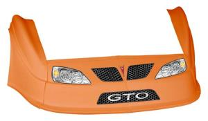 MD3 Gen 2 Nose-Fender-Decal Kit - (Orange - GTO)