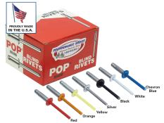 "POP 3/16"" Exp Rivets - Small Head (3/8"") - White - (Qty 250)"