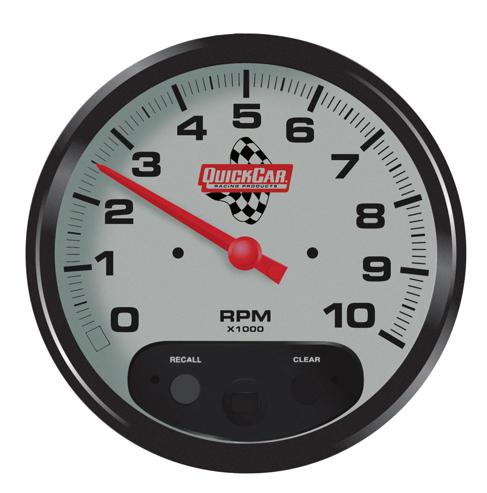 """Picture of Quickcar 5"""" Tach w/ Recall"""