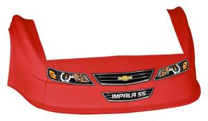 MD3 Gen 2 Nose/Fender/Decal Kit - (Red - Impala)