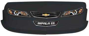 MD3 Gen 2 Nose/Decal Combo - (Black - Impala)