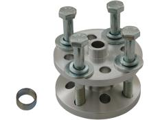 "PRP Billet Aluminum Fan Spacer Kit w/ Bolts - (1-1/2"")"