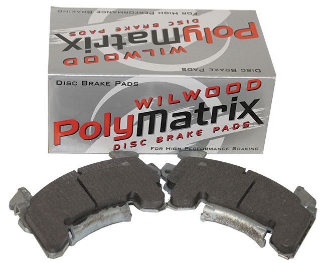 Wilwood PolyMatrix B GM Metric Brake Pads - (4 Pads)