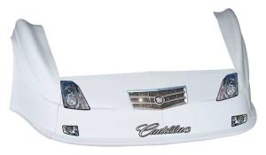 MD3 Gen 2 Nose-Fender-Decal Kit - (White - Cadillac)