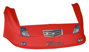 MD3 Gen 2 Nose-Fender-Decal Kit - (Red - Cadillac)