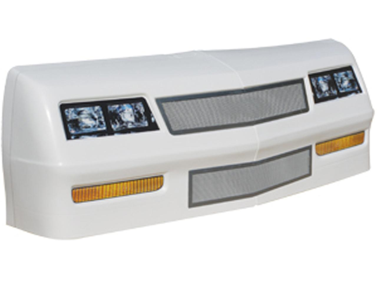 1981-88 Monte Carlo Nose/Screens/Decal Kit - (White)