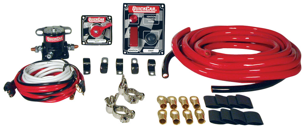 Quickcar Short Track Wiring Kit w/ Flag Panel