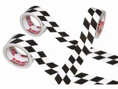 "ISC 2"" X 45 Foot Checkerboard Tape - Angled"