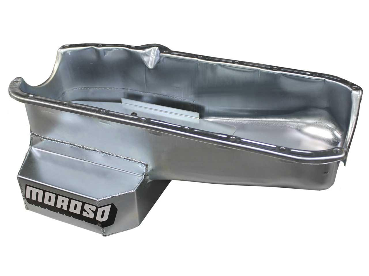 Picture of Moroso SBC Claimer Pan with Drive Side Dipstick