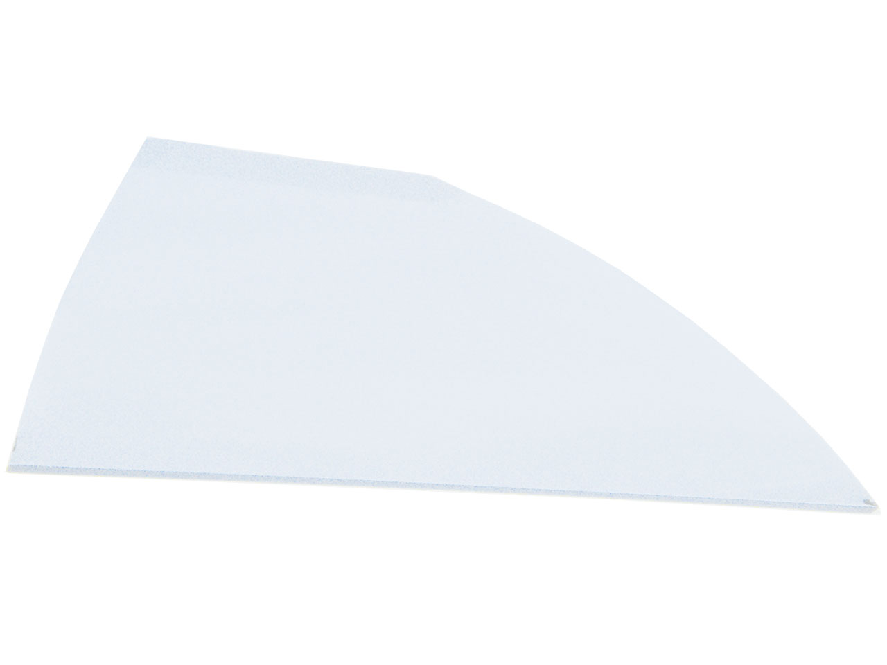 Late Model Left Side Solid Rear Roof Post - (White)