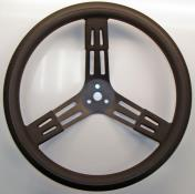 "Picture of PRP 17"" Black Steel Steering Wheel"