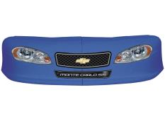 Classic Dirt Nose/Decal Combo - (Chev Blue - Monte Carlo)