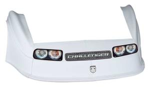 MD3 Gen 2 Nose-Fender-Decal Kit - (White - Challenger)