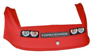 MD3 Gen 2 Nose-Fender-Decal Kit - (Red - Challenger)